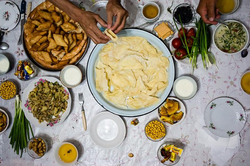 Uzbek table